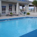 Swimming pool at Marianna Inn & Suites