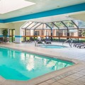 Swimming pool at Marriott Courtyard Chicago Wood Dale