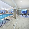 Swimming pool at Marriott Residence Inn Detroit Novi