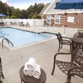 Swimming pool at Marriott Residence Inn Foxborough