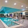 Swimming pool at Marriott Residence Inn Hamilton