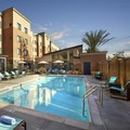 Swimming pool at Marriott Residence Inn Los Angeles Redondo Beach