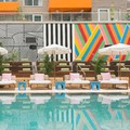 Swimming pool at Mccarren Hotel & Pool