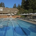 Swimming pool at Meadowood Napa Valley