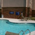 Swimming pool at Microtel Conyers