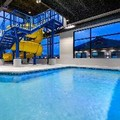 Swimming pool at Microtel Inn & Suites Mont Tremblant