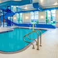 Swimming pool at Microtel Inn & Suites Red Deer