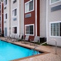 Swimming pool at Microtel Inn & Suites by Wyndham Houston