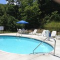 Swimming pool at Microtel Inn & Suites by Wyndham Sylva Dillsboro A