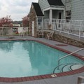 Swimming pool at Microtel Suites Pigeon Forge Music Road