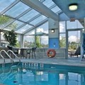 Swimming pool at Monte Carlo Inn Barrie Suites