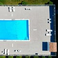 Swimming pool at Motel 6