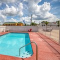 Swimming pool at Motel 6 Denham Springs
