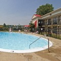Swimming pool at Motel 6 Edgewood