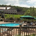 Swimming pool at Mountain Lake Lodge