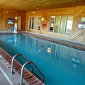 Swimming pool at Napoleon Inn & Suites