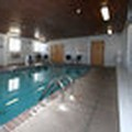 Swimming pool at New Victorian Inn York
