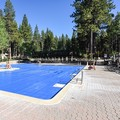 Swimming pool at Northstar California Resort