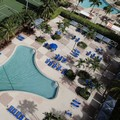 Swimming pool at Ocean Reserve Luxury Suites Sunny Isles Beach