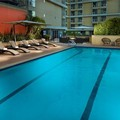 Swimming pool at Omni Los Angeles Hotel at California Plaza