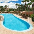 Swimming pool at Orlando Marriott Lake Mary