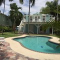 Swimming pool at Palm Beach Vacation Rentals