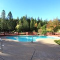 Swimming pool at Pioneer Inn & Suites