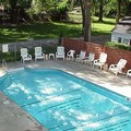 Swimming pool at Plantation Motel