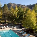Swimming pool at Plumpjack Squaw Valley Inn