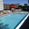 Swimming pool at Portola Inn & Suites