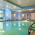 Swimming pool at Poughkeepsie Hampton Inn & Suites