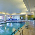 Swimming pool at Quality Inn Boston North