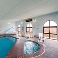 Swimming pool at Quality Inn Childress