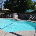 Swimming pool at Quality Inn Fresno Airport