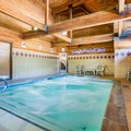 Swimming pool at Quality Inn Mammoth Lakes