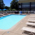 Swimming pool at Quality Inn Pittsburgh Cranberry