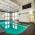 Swimming pool at Quality Inn Rutland