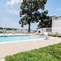 Swimming pool at Quality Inn Solomons Beacon Marina