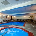 Swimming pool at Quality Inn & Suites
