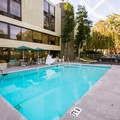 Swimming pool at Quality Inn & Suites Capital District