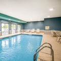 Swimming pool at Quality Inn & Suites Kansas City Independence I 70