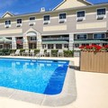 Swimming pool at Quality Inn & Suites Maine Evergreen Hotel