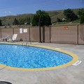 Swimming pool at Quality Inn & Suites Okanogan Omak