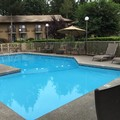 Swimming pool at Quality Inn Wilsonville