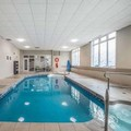 Swimming pool at Quality Suites Drummondville