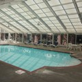 Swimming pool at Quality Suites Lake Wright