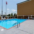 Swimming pool at Quality Suites Maumelle