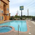 Swimming pool at Quality Suites San Antonio