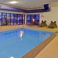 Swimming pool at Radisson Hotel Cleveland Airport