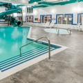 Swimming pool at Ramada Cochrane
